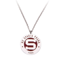Necklace with round Sparta logo