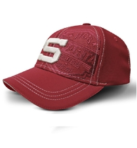 Baseball cap with embossing HC Sparta Praha - burgundy