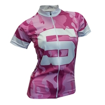 Women's Cycling jersey Sparta army pink