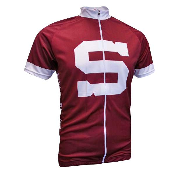 Men's bike jersey HC SPARTA PRAHA - burgundy RACE