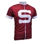 Men's cycling jersey HC Sparta Praha burgundy RACE