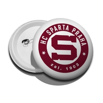 Badge with round logo Sparta