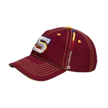 Baseball cap with stitching - tricolor - kids