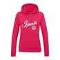 Women´s hoodie with a circular logo and inscription Sparta