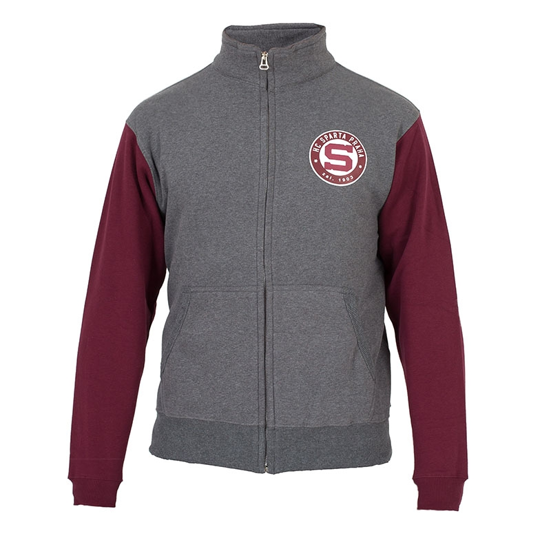 Women's sweatshirt grey - red Sparta