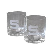 Whisky set sandblasted logo S