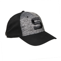 "Baseball cap heather grey with an embroidered "" S """
