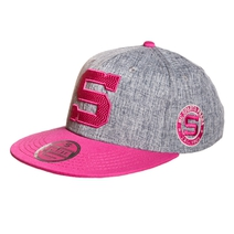 "Baseball cap with pink "" S "" - kids"