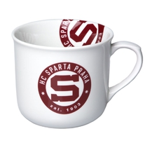 Mug with a circular logo HCS - wide