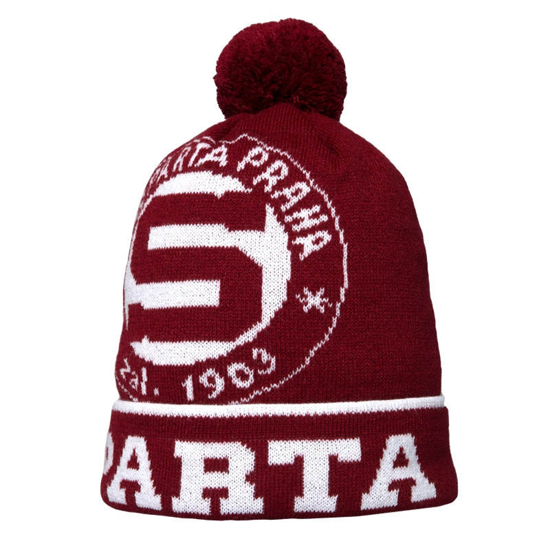 Beanie with a circular logo Sparta - Adults