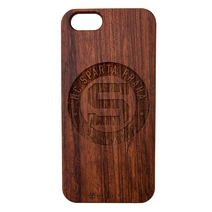Wooden case for Iphone 6 Sparta
