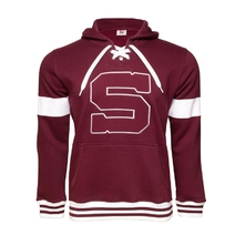 Men´s hoodie with hockey laces Sparta