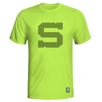Kid´s T-Shirt neon with black S