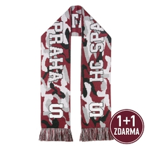 Army scarf red/black/grey Sparta