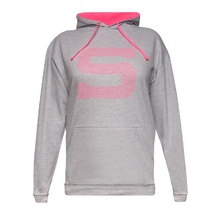 Women´s hoodie with contrasting S logo