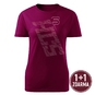 Women's t-shirt HCS inscription pink