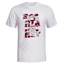 Men's T-shirt Sparta Hockey - white