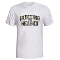 Men's T-shirt Hunting season Sparta - white