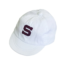 "Baby cap with embroidery ""S"""