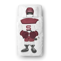 Bedding set hockey player Sparta