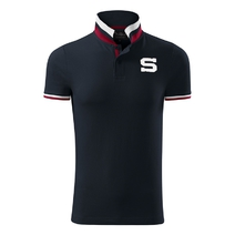 Polo shirt striped collar Sparta