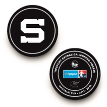 Official puck for the season 2017/18