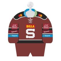 Personalised mini jersey HC Sparta for season 17/18 burgundy