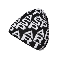 Beanie with Sparta signs for adults black