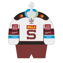 Personalised mini jersey HC Sparta for season 17/18 white