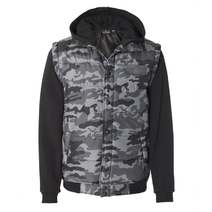 Men´s jacket with army pattern
