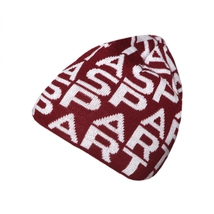 Beanie with Sparta signs for Kids burgundy