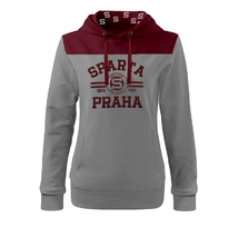 Women´s hoodie with the inscription Sparta Praha