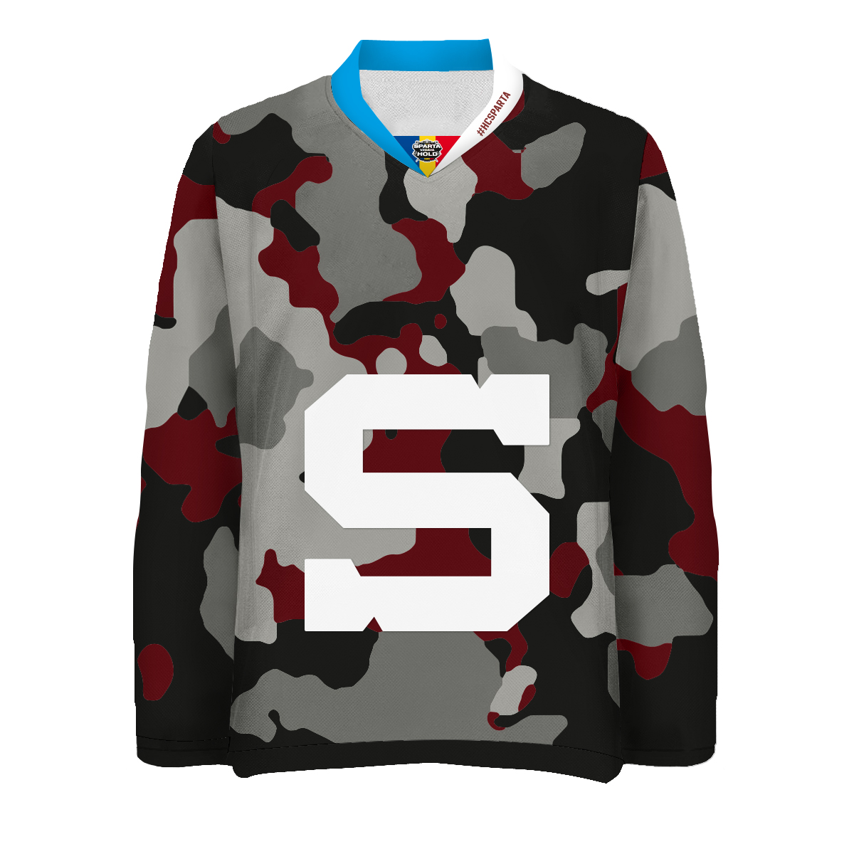 Fan jersey Sparta salutes to service without partner logos 17 18 a5967066d8c