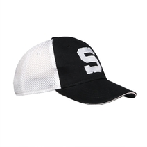 "Cap meshfit with white ""S"""