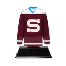 Paper weight jersey burgundy
