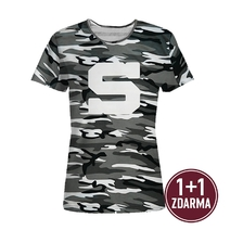 Women´s T-shirt Camouflage