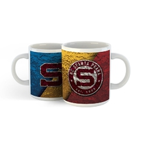 Mug Retro Tricolor with logo