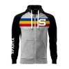 Kid´s hoodie with tricolor