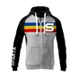 Women´s hoodie with tricolor