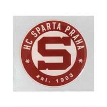 Sticker 3D with logo