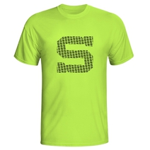 Men´s neon T-Shirt with black S