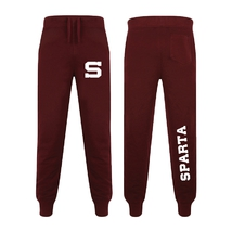 Men´s Slim fit cuffed Joggers burgundy