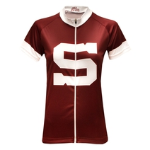 Women´s cycling jersey Sparta burgundy