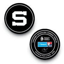 Official puck for the season 2018/19