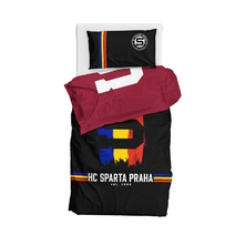 Bedding set HC Sparta Praha burgundy-black