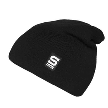 Light beanie black with silicone logo Sparta for Kids