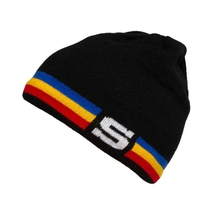 Beanie without bobble S tricolor for kids