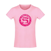 Kid´s T-Shirt Logo Patina pink