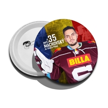 Badge with player 18/19 Machovský