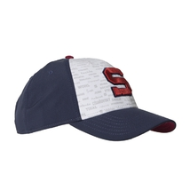 Cap navy with inscriptions burgundy S